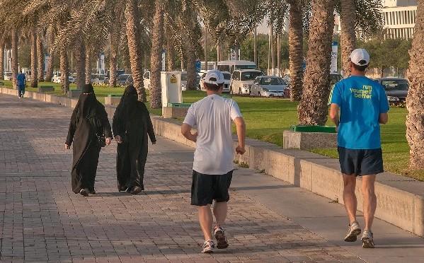 La vie reprend à Doha, début septembre 2014
