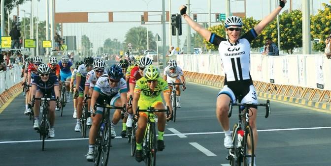 Kirsten Wild gagne la première étape du tour féminin du Qatar