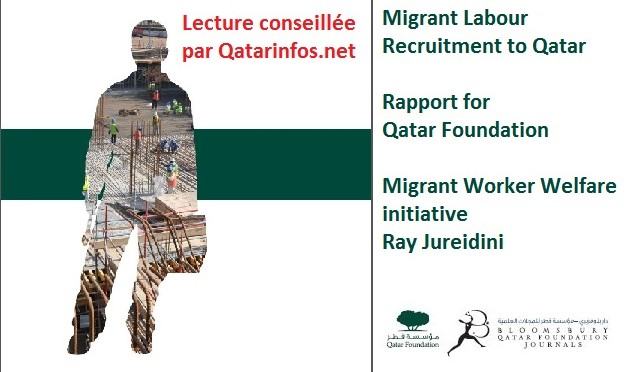 Migrant Labour Recruitment to Qatar, document à lire
