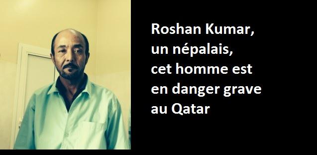Qatar affaire Roshan Kumar