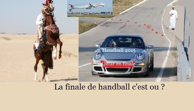 La France en finale du Mondial de handball contre le premier pays du Village le monde