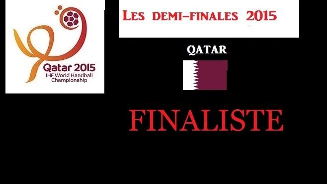 Le Qatar en finale du Championnat du monde de handball 2015