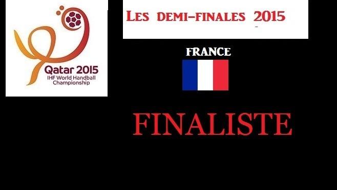 La France en finale contre le Qatar