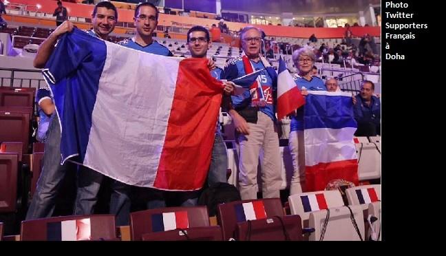 Au Qatar, pour une compétition sportive il vaut mieux amener ses supporters