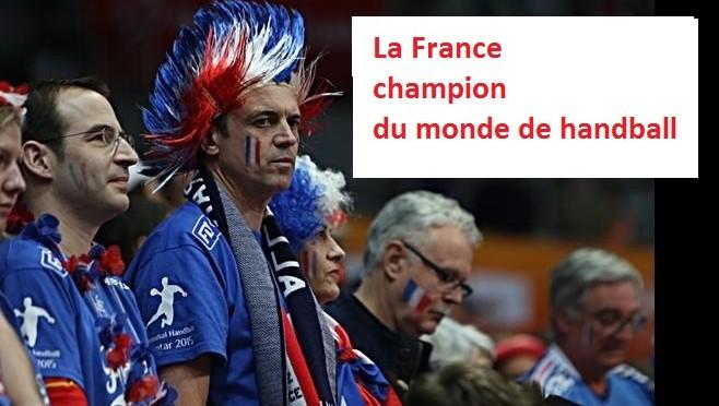 La France bat le Qatar 25 à 22 et devient champion du monde pour la 5e fois
