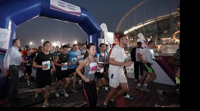 Mega Marathon au Qatar