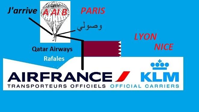 Air France ferme des lignes et Qatar Airways a de nouveaux droits
