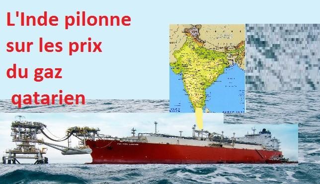 Le Qatar accepte de baisser fortement son prix du gaz pour l'Inde