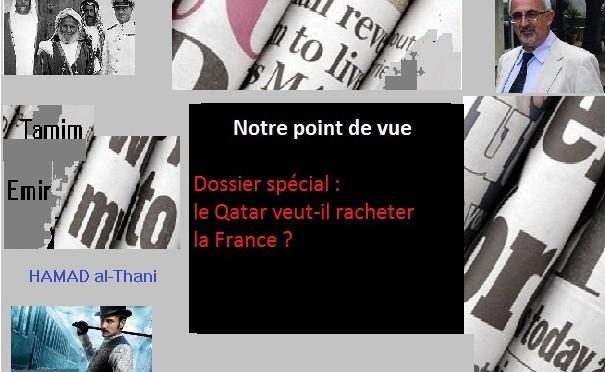 Notre commentaire sur : Dossier spécial : le Qatar veut-il racheter la France ?