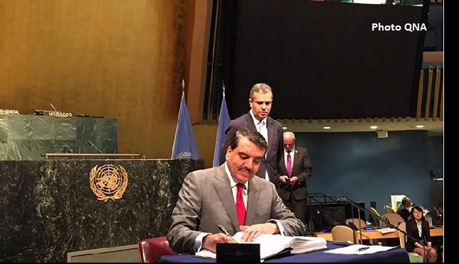 Le Qatar signe l'accord sur le climat