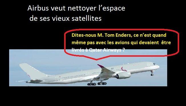 Le silence assourdissant d'Airbus sur les propos de Qatar Airways