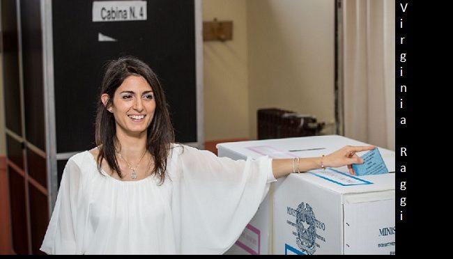 Virginia Raggi, maire de Rome a un énorme travail devant elle