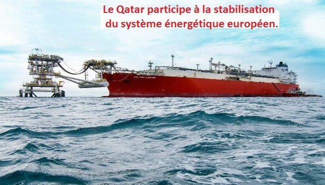 RWE et Qatargas signent un accord de livraison de GNL