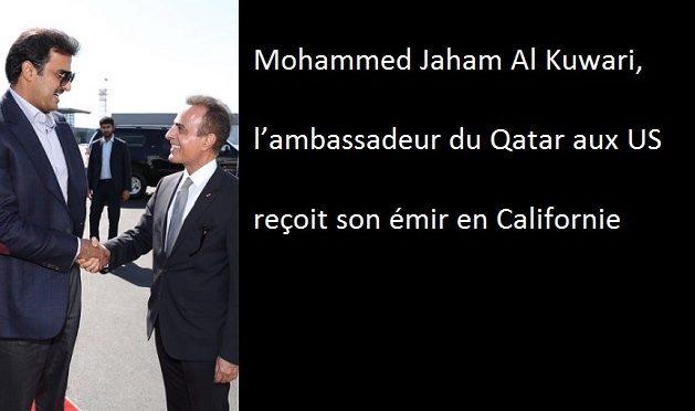 Le voyage stratégique de l'émir du Qatar en Californie