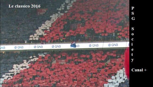 Classico PSG OM du 23 octobre 2016