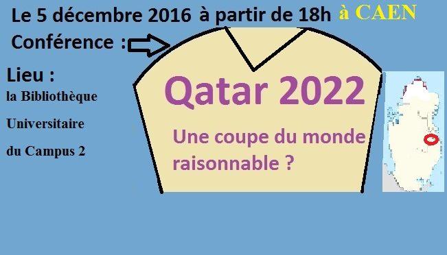 UFR STAPS de Caen invite Qatar 2022