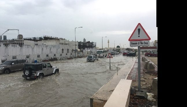 Qatar la crainte des inondations