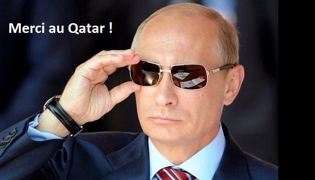 Le Qatar apporte son soutien financier à la Russie