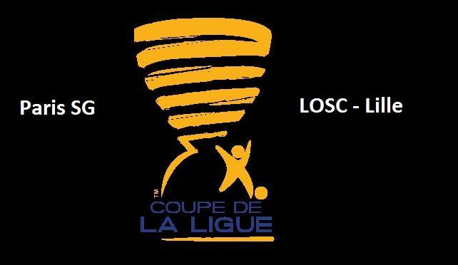 PSG contre Lille Coupe de la ligue
