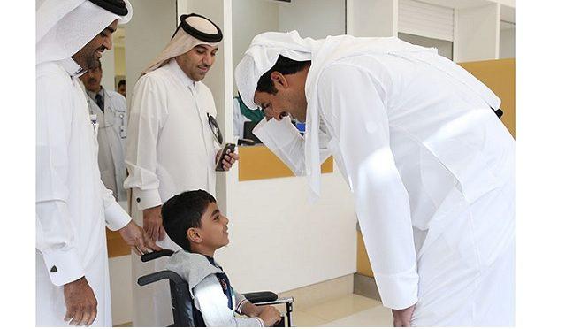 Doha, 19 janvier 2017, l'émir fend l'armure
