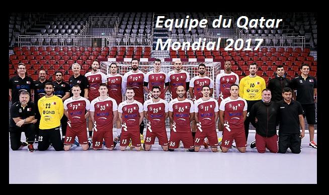 Le qatar au mondial de handball 2017 en france - Qatar coupe du monde handball ...