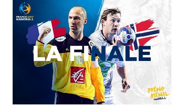 Handball 2017 finale France – Norvège