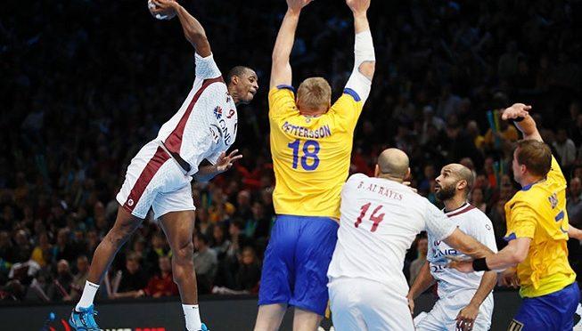 Qatar contre Danemark Mondial Handball 2017