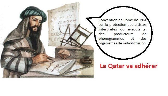 Doha 24 mars 2017, le Qatar va adhérer à la Convention de Rome de 1961 sur les artistes