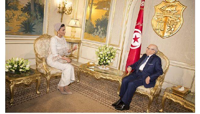 Le retour de Sheikha Moza en Tunisie