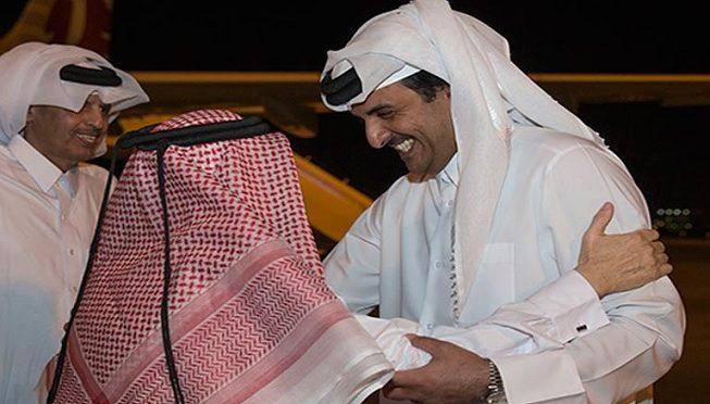 Le Qatar heureux de retrouver les siens