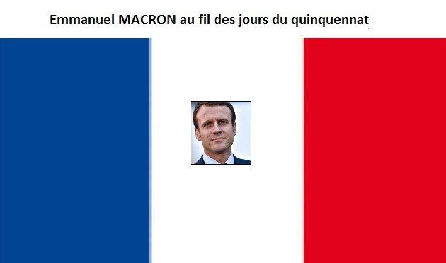 Paris 13 mai 2017, Macron un général avec une troupe d'amateurs