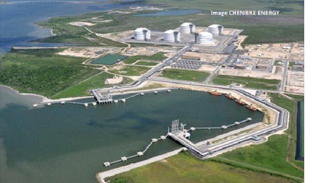 Le terminal de GNL Sabine Pass, Louisiane US