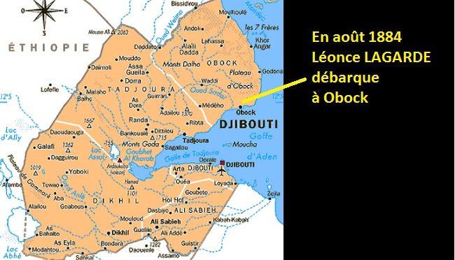 Djibouti de Léonce Lagarde à Ismael Omar Guelleh