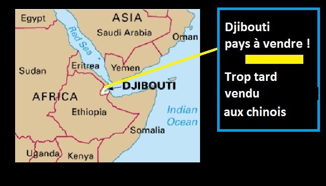 La Chine prochain propriétaire de Djibouti
