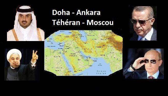 L'axe Ankara, Téhéran, Moscou sauvera- t-il le soldat Qatar ?