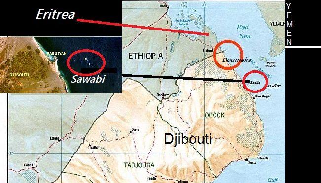 Djibouti l'archipel de Sawabi fortement déconseillé