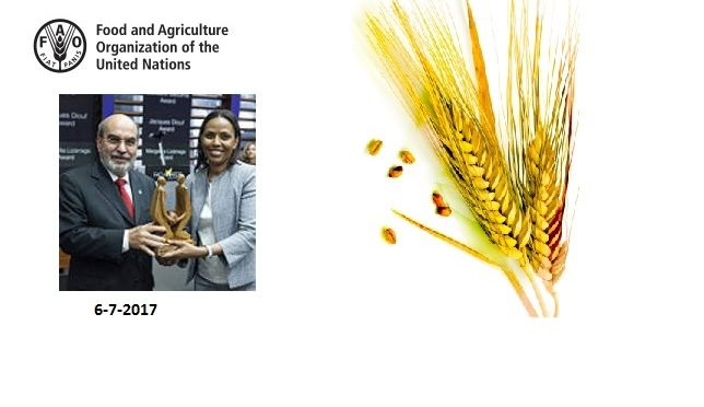 La Djiboutienne Fatouma Djama Seid obtient le prix B.R. SEN