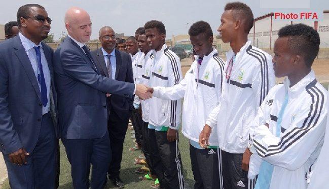 Dissolution de l'équipe nationale de Djibouti