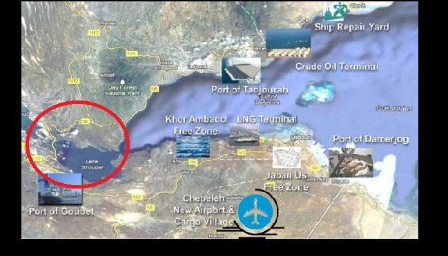Le port minéralier de Goubet à Djibouti