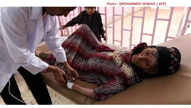 Yémen 5000 personnes par jour atteints par le choléra